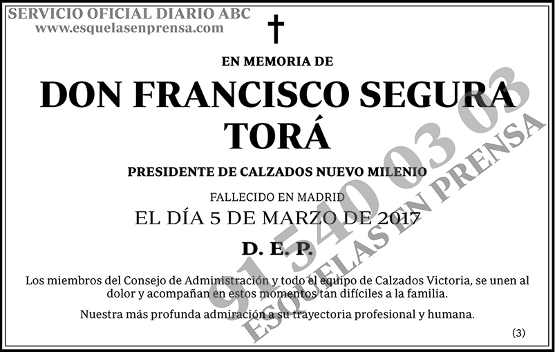 Francisco Segura Torá